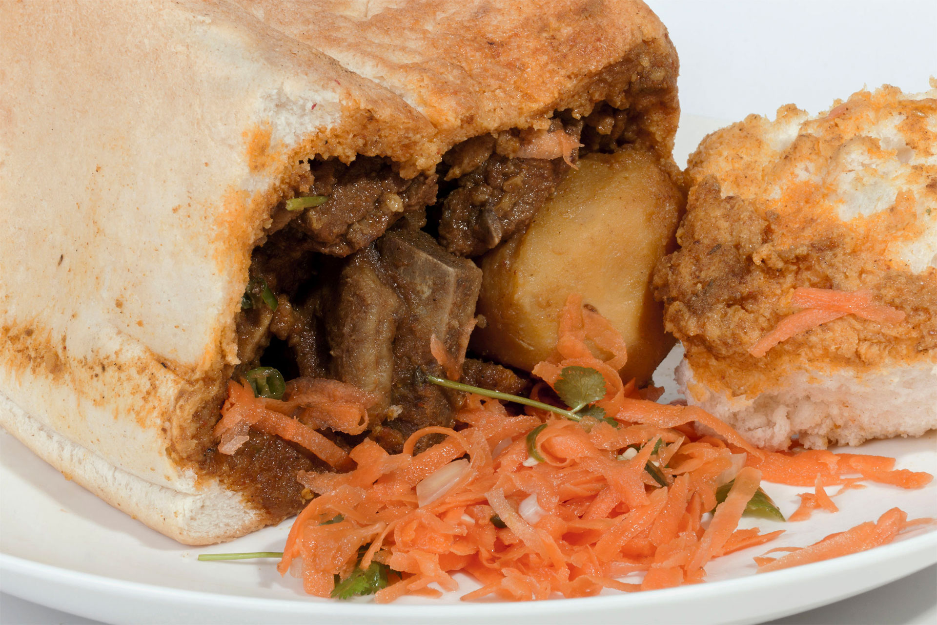 Bunny Chows con Patate e Agnello – Sudafrica