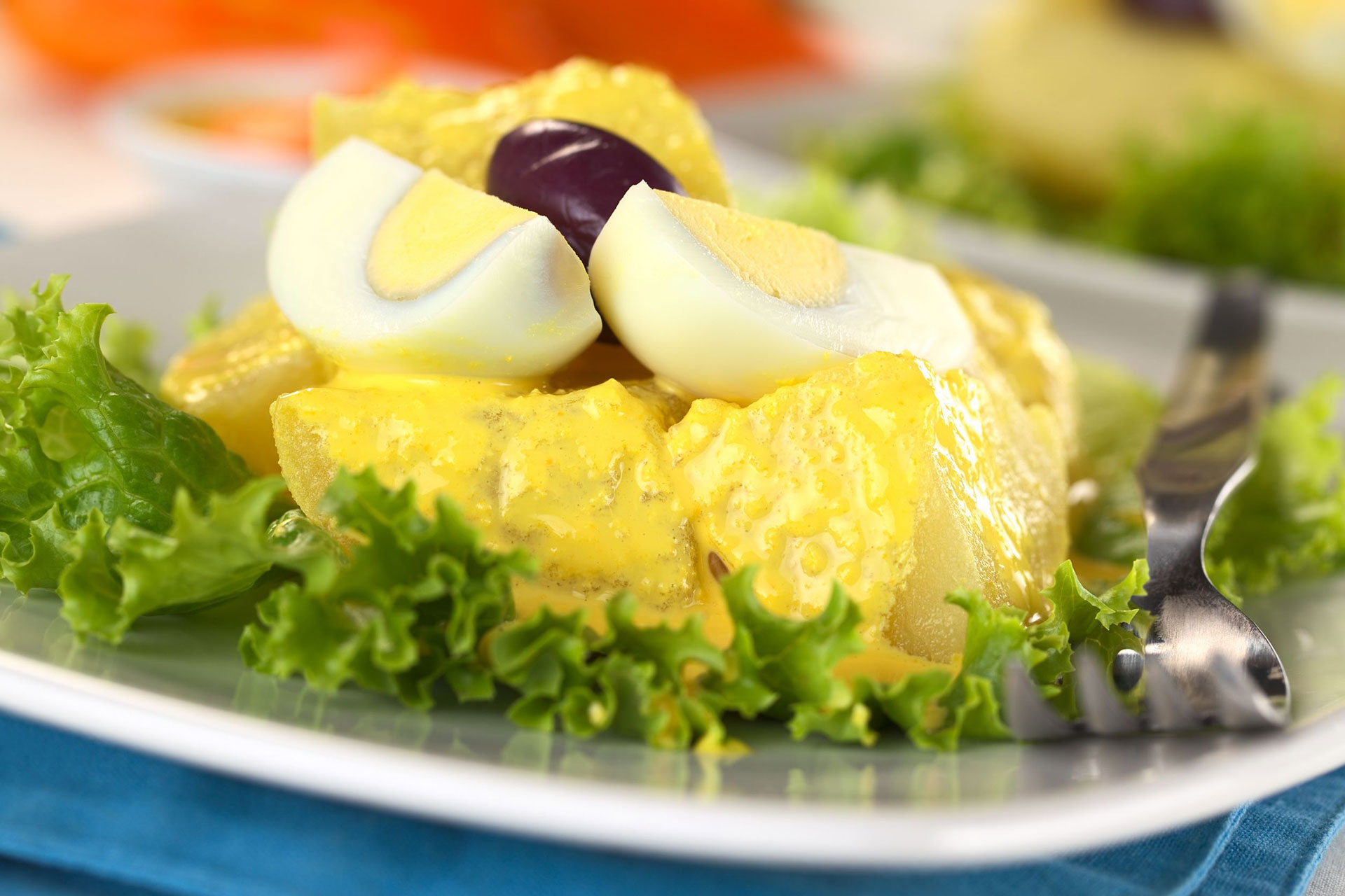 Patata alla huancaína – Perù